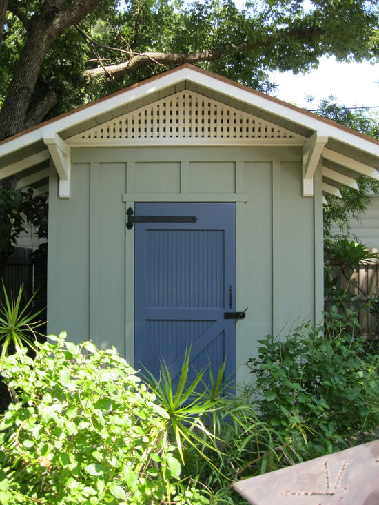 Craftsman storage sheds home design photos decor ideas for Craftsman style storage sheds