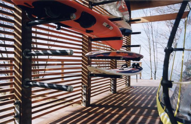 Boardshed modern-garage-and-shed