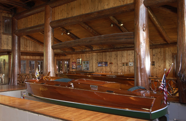 Boat garage traditional shed minneapolis by marie for Boat garages