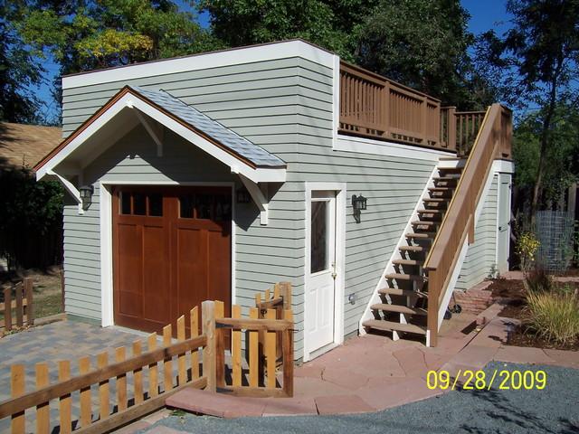 Boulder garage - Traditional - Shed - Denver - by ESF Construction