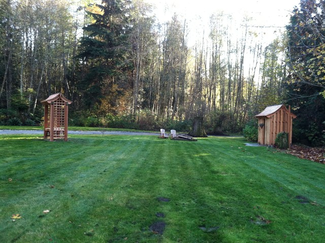 Bow Shed Pergola Contemporary Shed Seattle By