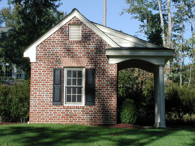 Woodwork brick storage building plans pdf plans for Brick garage plans