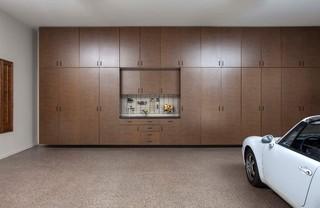 Bronze Garages - Contemporary - Shed - Phoenix - by Arizona Garage & Closet Design