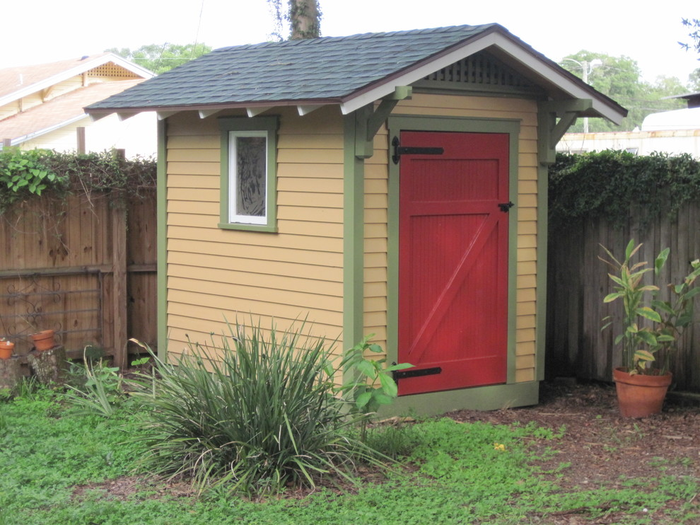 Bungalow Storage Shed   Traditional   Shed   Tampa   By ...