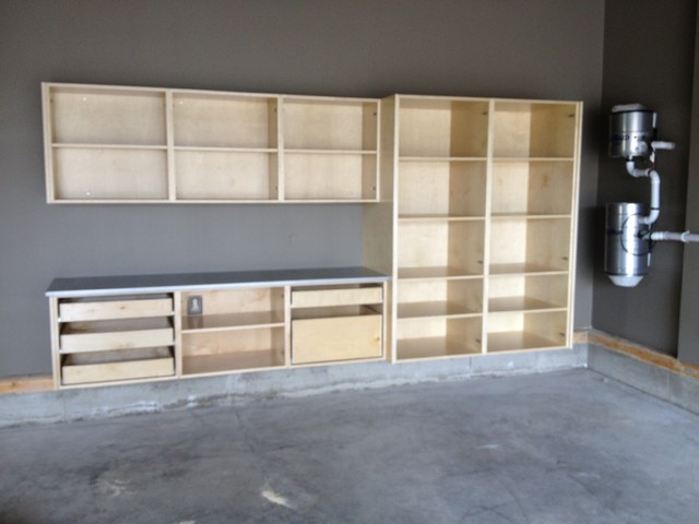 ... Cabinets! - Modern - Garage And Shed - calgary - by Garage Storage