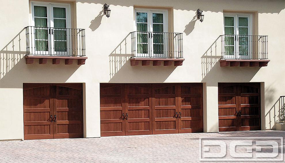 California Dream 03 Wood Garage Doors