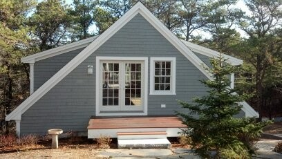 Beautiful Cape Garage With Living Space Above Traditional Granny Flat Or Shed