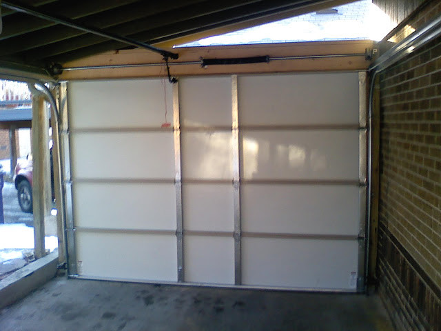 Carport into garage modern-shed & Carport into garage - Modern - Shed - Denver - by Creative Garage Doors