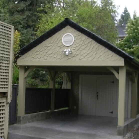 Carport traditional-garage-and-shed