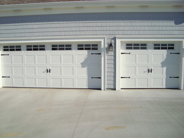 Carriage House Style Garage Doors Craftsman Shed