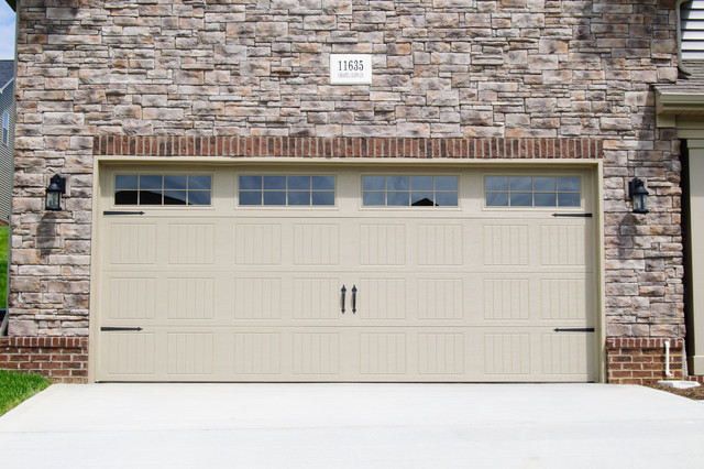 ... Traditional - Garage And Shed - dallas - by Wayne Dalton Garage Doors