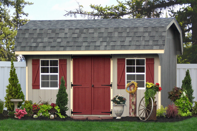 Classic Storage Sheds from PA traditional-garage-and-shed