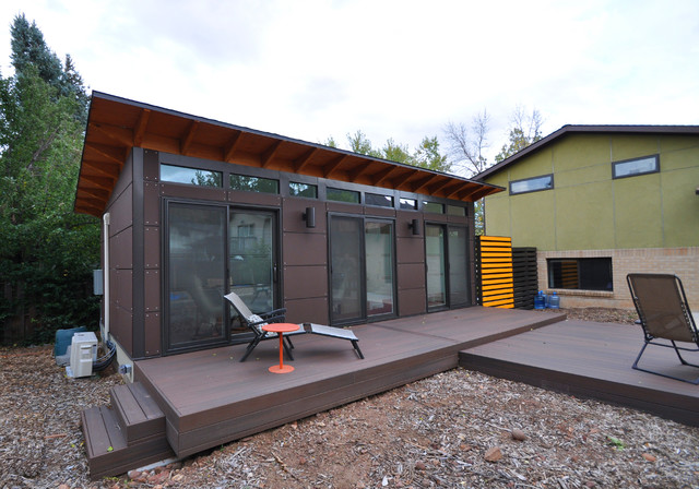 Client Studio Shed With Bathroom X Modern Granny Flat Or - Studio shed with bathroom for bathroom decor ideas