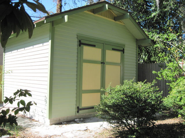 Clipped gable shed craftsman-garage-and-shed
