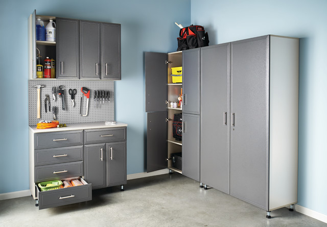 ClosetMaid's ProGarage Cabinet Storage - Traditional - Shed - boston - by Showroom Partners
