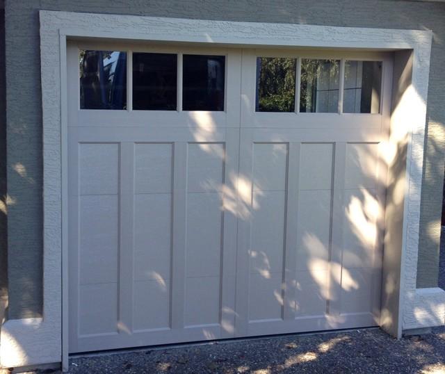 Coachman Garage Doors Traditional Shed