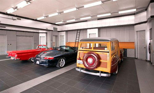 Bmw Dealership Near Me >> The Benefits of Porcelain Garage Floor Tile | All Garage ...