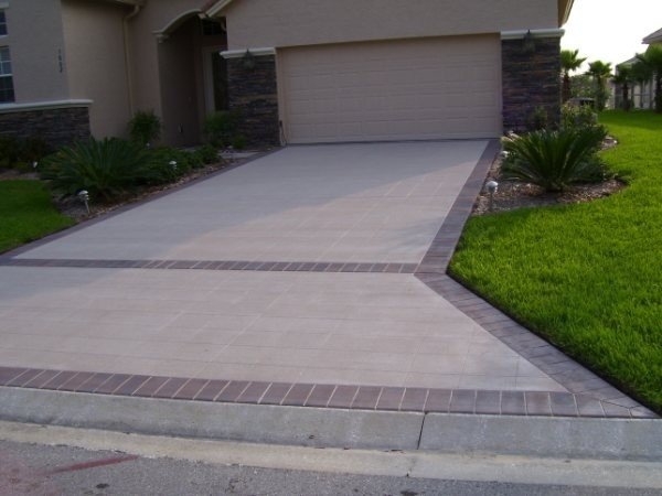 how to clean stained dirty concrete pavers