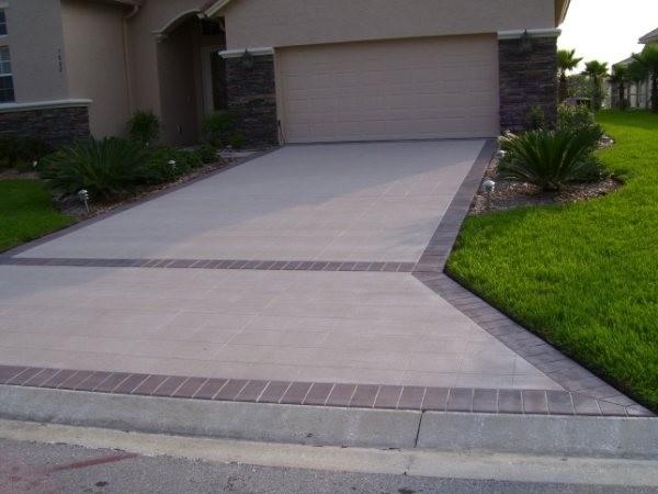 Concrete Driveway Lastiseal Stain Sealer