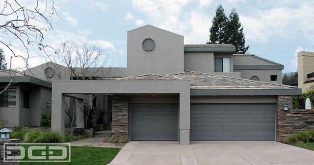 Contemporary Architectural Garage Doors | Custom Designed, Crafted & Installed contemporary-garage-and-shed