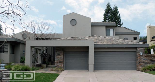 Contemporary Architectural Garage Doors Custom Designed