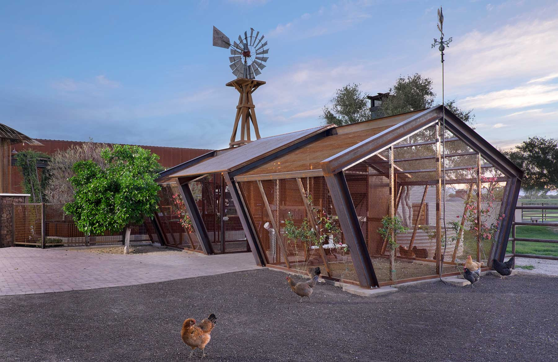Contemporary Chicken Coop Houzz