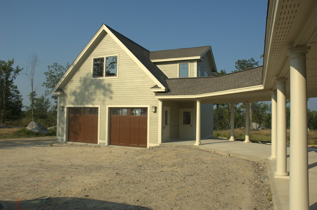 Contemporary Home In Fremont Nh New Construction