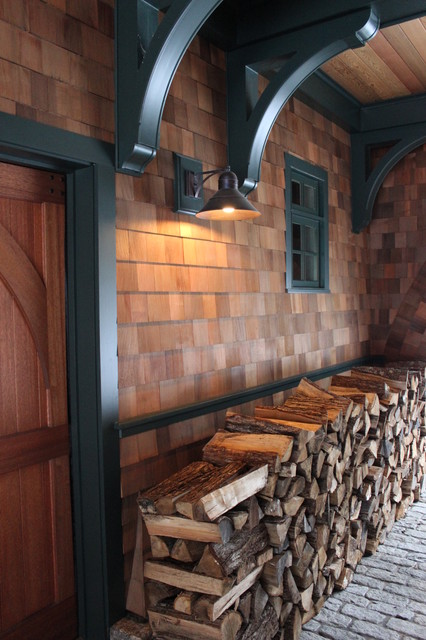 Copper Wall Lanterns Rustic Garage And Shed