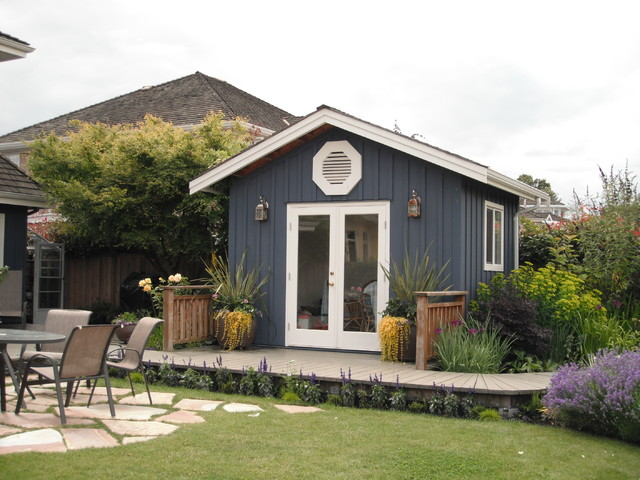 Cottage Perennial Traditional Granny Flat Or Shed