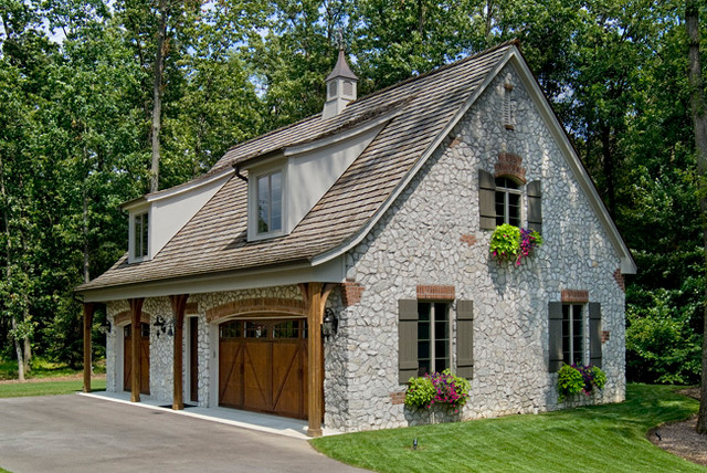 country french traditional garage and shed other