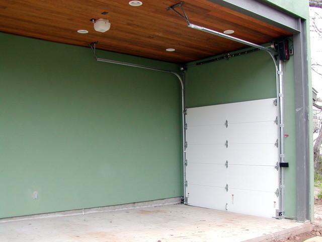 Cowart Door Garage High Lift Traditional Shed