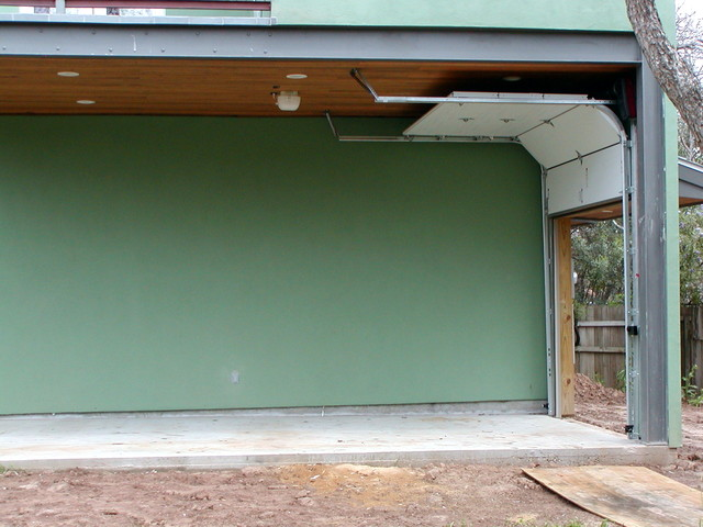 Garage With Lift Kits : Cowart door garage high lift traditional shed