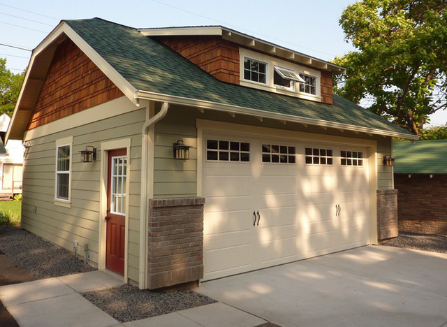 Craftsman Garage Craftsman Shed Seattle By