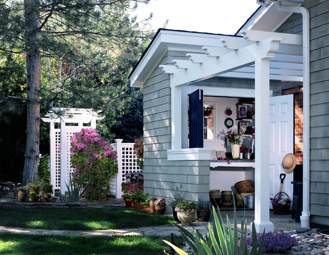Craftsman Style Home Traditional Shed Denver By