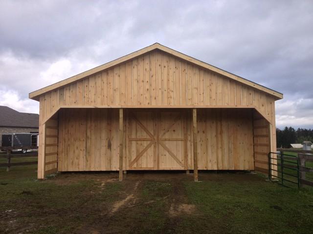 Custom Barn Build