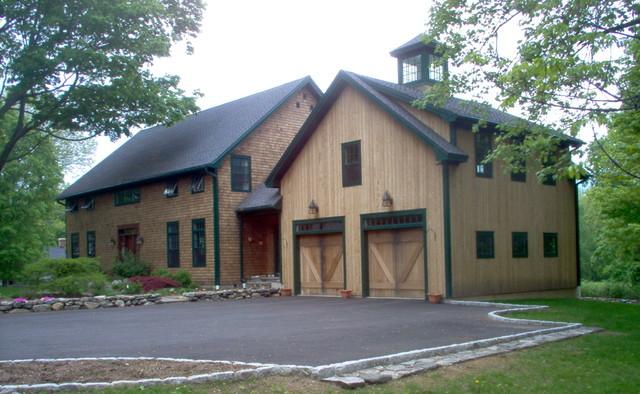 Custom Barn Home