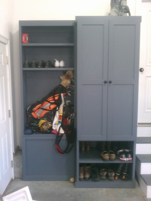 Custom Built Storage Lockers Newton Ma Traditional