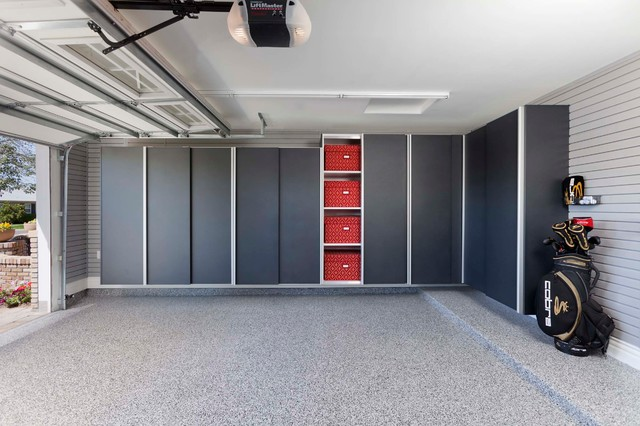 Custom closets, pantry, office, garage cabinets garage-and-shed