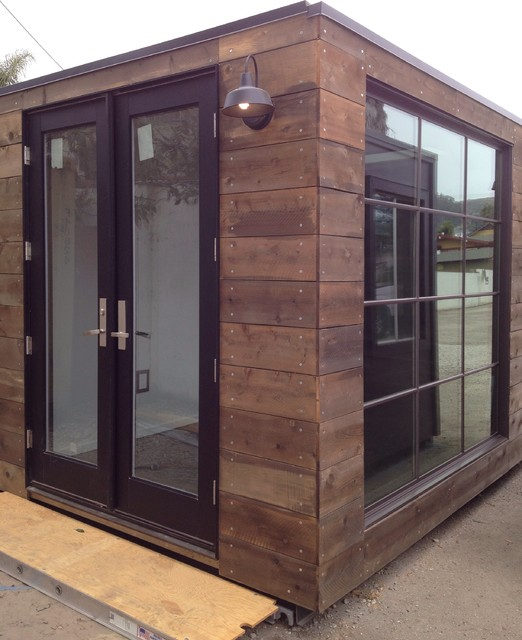 Custom Designed Shipping Containers Rustic Garden Shed And Building