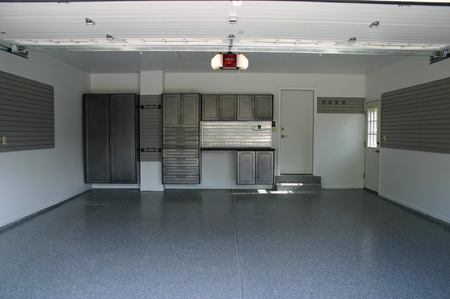 Custom Garage Cabinets - Modern - Garage And Shed - chicago - by Pro Storage Systems