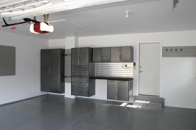 Custom Garage Cabinets - Modern - Garage And Shed ...