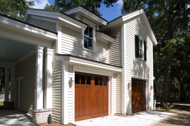 Custom Palmetto Bluff Lake Home traditional-garage-and-shed