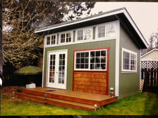 Custom Sheds Traditional Garage And Shed Portland