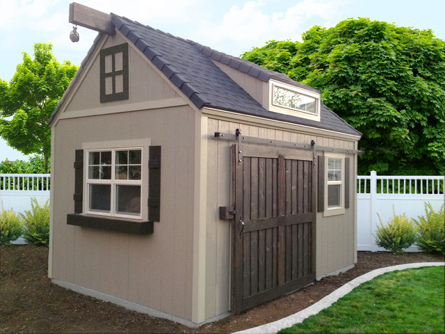 Custom Outdoor Sheds : Custom sheds traditionalgarageandshed