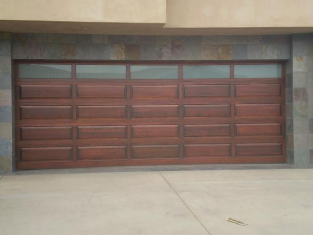 Custom Wood Sectional Garage Doors