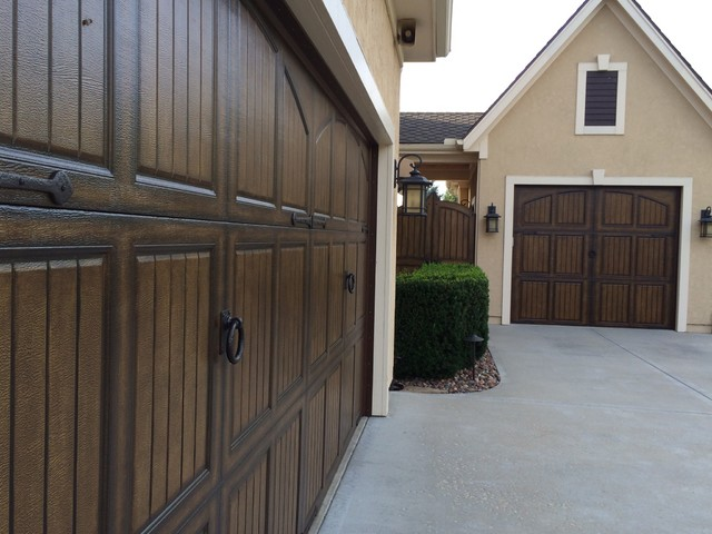 Decorative Double Garage Door Hardware By Coastal Bronze Traditional Shed