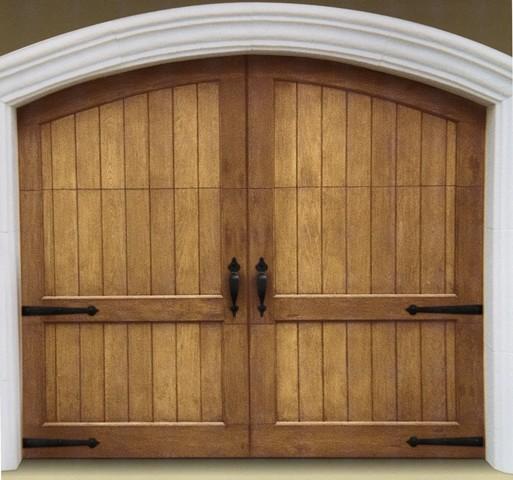 Garage Door Decor: Decorative Garage Door Hardware Uses