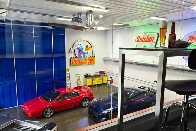 Display Garage From Loft
