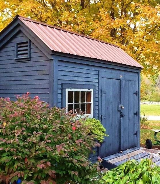 diy Plans - Garden ($50) 8' x 10' Saltbox garden shed