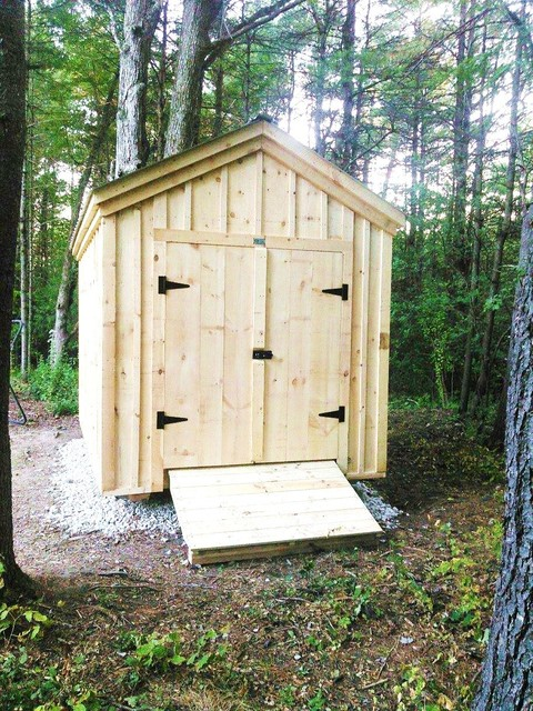 Diy Shed Plans 50 8 X 12 Gable Shed Traditional